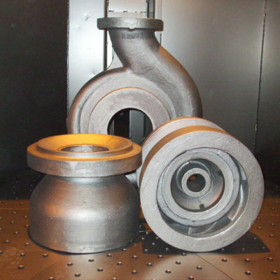 printed mould in UK Cast Iron Foundry