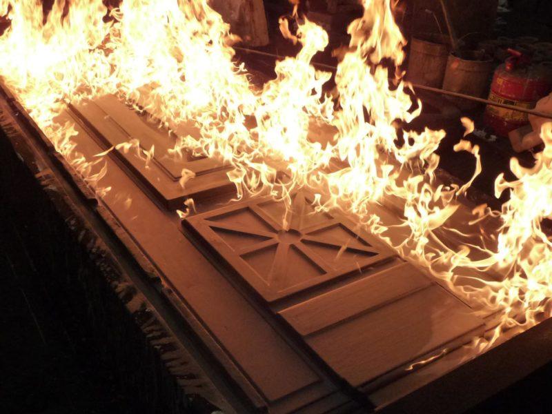 Mould Coating Burning