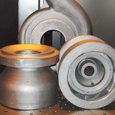 impellers and a pump body